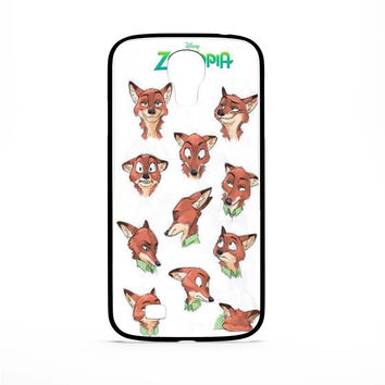 Zootopia Art Samsung Galaxy S4 Case