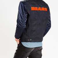 Levis NFL Denim Varsity Trucker Jacket
