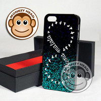Mint Glitter Hakuna Matata for iPhone 4/4s, 5, 5s, 5c and Samsung Galaxy s2, s3 and s4 Case