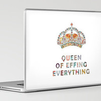 her daily motivation Laptop & iPad Skin by Bianca Green | Society6