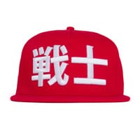 Warrior Snapback - Red - One