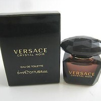 CRYSTAL NOIR for Women by Versace EDT Miniature Splash 0.17 oz