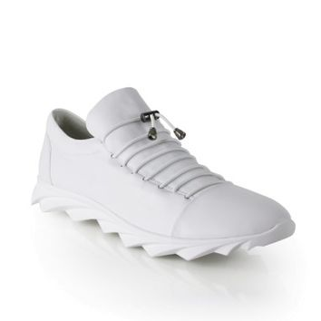 White leather sneakers, White sneakers for men, Men's fashion sneakers