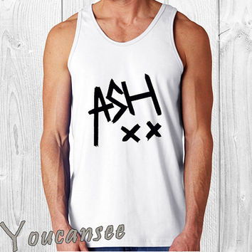 5sos ash xx - men tank top ---print screen tank top for men, Awesome tank top for Man,Size S --- 3XL