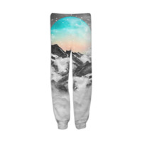 It Seemed To Chase the Darkness Away (Guardian Moon / Winter Moon) Unisex Sweatpants Joggers created by soaringanchordesigns | Print All Over Me