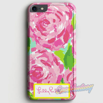 Lilly Pulitzer First Impression Rose Inspired iPhone 7 Case   casefantasy