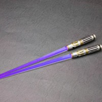 Star Wars Light Up Lightsaber Chopsticks - Mace Windu - Star Wars Other Miscellaneous