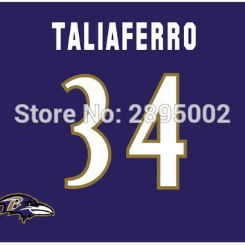 Baltimore Ravens Team Name USA Classic Man Cave Sports Banner Flag 3' x 5' Custom metal holes Hockey Baseball Football Flag