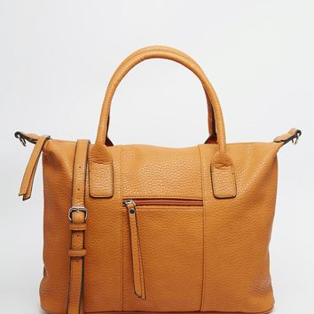 Pieces | Pieces Tote Bag With Cross Body Strap at ASOS