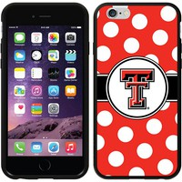 Coveroo, Inc. Texas Tech Red Raiders Polka Dots iPhone 6 Switchback Snap-On Case 786-6577-BK-FBC (Txt Team)