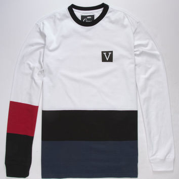 VANS x Chima Ferguson Color Block Mens T-Shirt