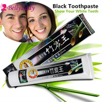 BellyLady 160g/pc Newest Charcoal Toothpaste Whitening Black Bamboo Charcoal Toothpaste Oral Hygiene Teeth Care