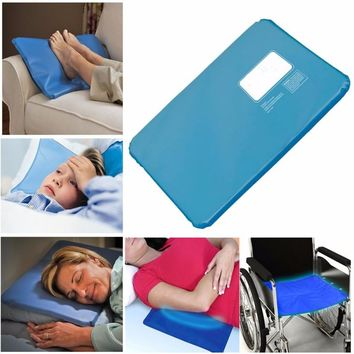 Hot Summer Therapy Insert Sleeping Aid Pad Mat Muscle Relief Cooling Gel Pillow Ice Pad Massager Water Pillows Added W