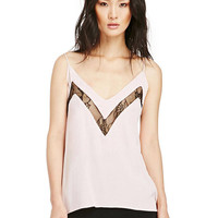Lace Splicing Cami Top