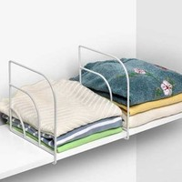 Curved Shelf Divider | Dormbuys.com