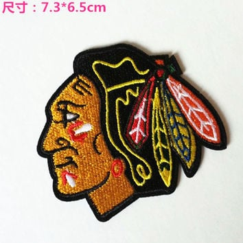 Indians Embroidered Iron-on Patch Sew on patch Cartoon patch