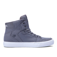 WOMENS VAIDER D in CHARCOAL - WHITE | SUPRA Footwear