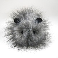 Little Puff Gray Guinea Pig Stuffed Toy Animal Plushie