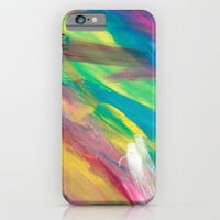 Abstract Artwork Colourful #2 iPhone & iPod Case by Kathrinmay