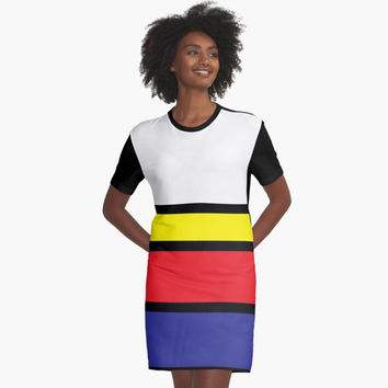 "'""geometric art 300""' Graphic T-Shirt Dress by BillOwenArt"