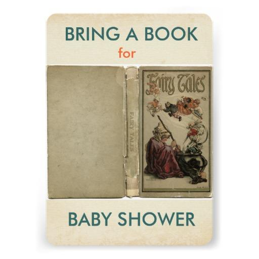 bring a book baby shower invitation from zazzle baby shower