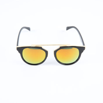 The Paradox Sunglasses in Black & Yellow