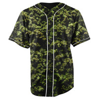 High Grade Button Up Baseball Jersey