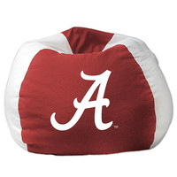 Alabama Crimson Tide NCAA Team Bean Bag (96in Round)
