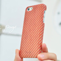 apple iphone case : stripe line