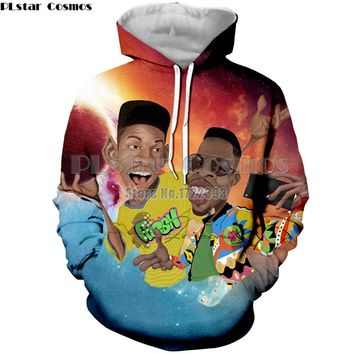 PLstar Cosmos The Fresh Prince of Bel Air Will Smith 3d Printed Hoodies Women/Men Spring Autumn Hooded Sweatshirt Tracksuit