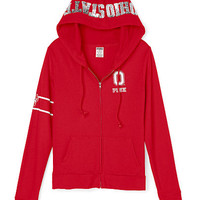 The Ohio State University Perfect Full-Zip Hoodie - PINK - Victoria's Secret