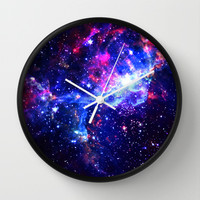 Galaxy Wall Clock by Matt Borchert