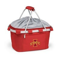 Iowa State Cyclones Insulated Picnic Basket (Red)