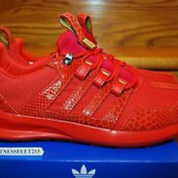 ADIDAS SL LOOP RUNNER TR RED REPTILE S85682 SIZE 13