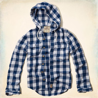 Newport Hooded Shirt
