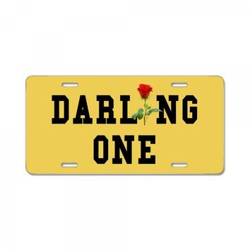 darling one License Plate