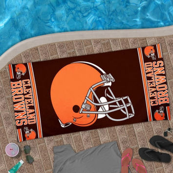 Cleveland Browns WinCraft Design Beach Towel
