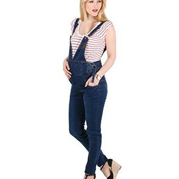 Overalls Vintage Dungarees Trousers Maternity Pregnancy Stretch Over Bump Jeans