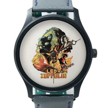 Led Zeppelin The Best Band Premium Wrist Watch