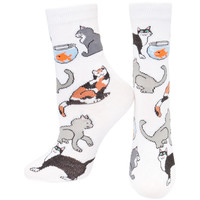Cats Sitting All-Over Juvy Socks