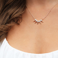 Sparkle Spike Necklace