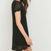 Minkpink The Moment Black Pointelle Dress - Urban Outfitters