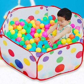 DCCKL72 New Children Kid Ocean Ball Pit Pool Game Play Tent In/Outdoor Kids House Play Hut Pool Play Tent
