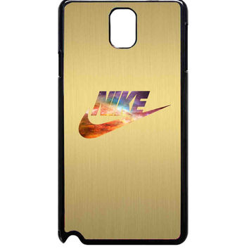 colorful nike gold nike For Samsung Galaxy Note 3 Case ***