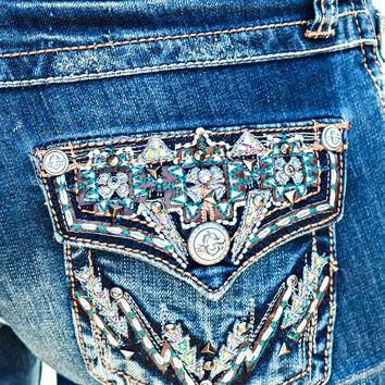GRACE IN L.A. SOUTH MOUNTAIN BOOTCUT JEANS