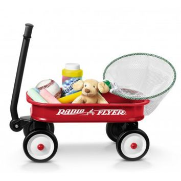 Radio Flyer® W5 Little Red Toy Wagon w/ Rolling Wheels, For Kids Ages 3+