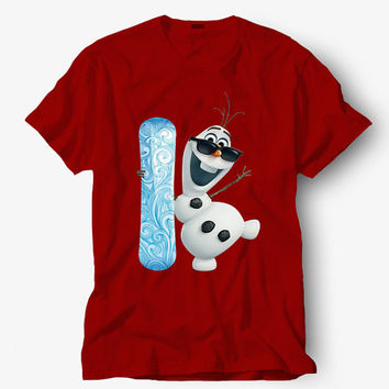Olaf Frozen funny Christmas shirt, Hot product on USA, Funny Shirt, Colour Black White Gray Blue Red