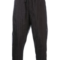 Song For The Mute Sheer Track Trousers