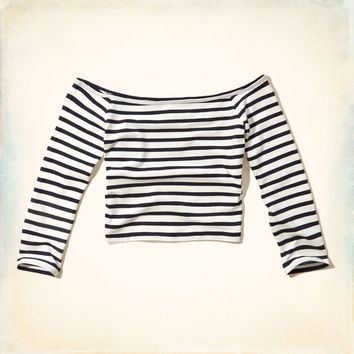 c8efcd6ead89 Must-Have Slim Crop Top from Hollister Co.