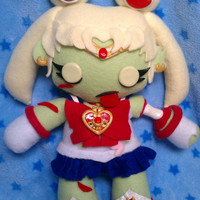 Inspired by Sailor Moon, Kawaii Zombie Sailor Moon Plush :3